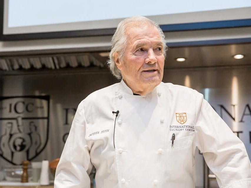 Support the Jacques Pépin Foundation